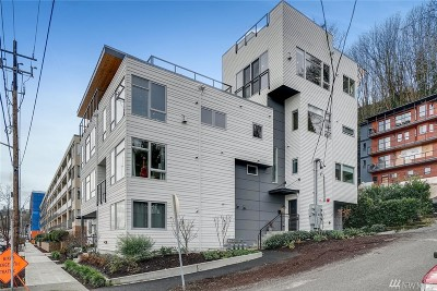 Seattle Condo/Townhouse For Sale: 4007 SW Maryland Place