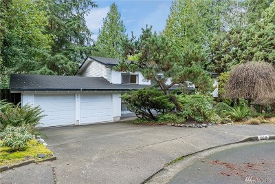 Kirkland Single Family Home For Sale: 10615 NE 121st St