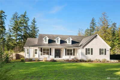 Port Orchard Single Family Home For Sale: 10966 Glenwood Rd SW