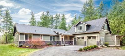 Thurston County Single Family Home For Sale: 14847 Rocky Blue Acres Lane SE