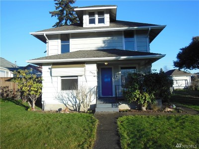 Everett Single Family Home For Sale: 2409 Highland Ave