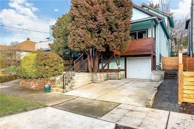 Seattle WA Single Family Home Sold: $579,000