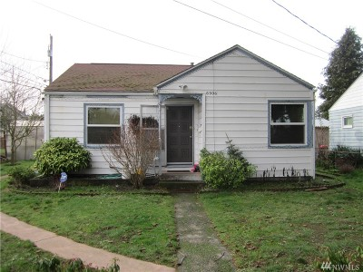 Tacoma Single Family Home For Sale: 6906 S Gove St