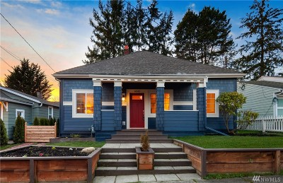 Seattle Single Family Home For Sale: 6545 21st Ave NW