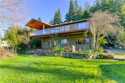 La Conner, Anacortes Single Family Home For Sale: 11987 Marine Dr