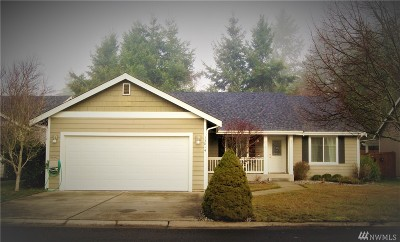 Yelm Single Family Home For Sale: 15814 104th Ave SE