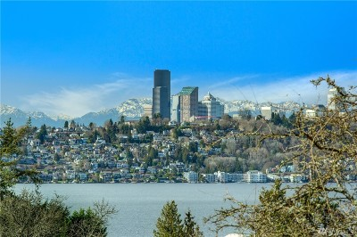 Mercer Island Single Family Home For Sale: 2459 65th Place SE