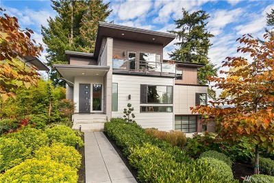 Mercer Island Single Family Home For Sale: 7416 SE 32nd St