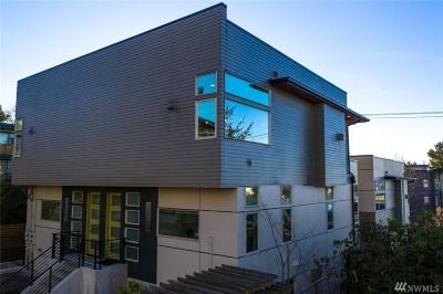 Seattle Single Family Home For Sale: 2616 Eastlake Ave E #B