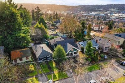 Seattle Single Family Home For Sale: 107 NW 50th St