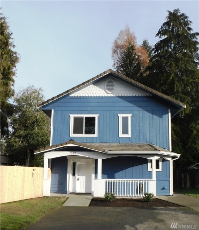 Olympia Single Family Home For Sale: 1302 Miller Ave NE