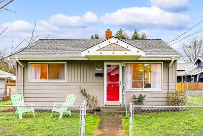 Seattle Single Family Home For Sale: 7506 11th Ave SW