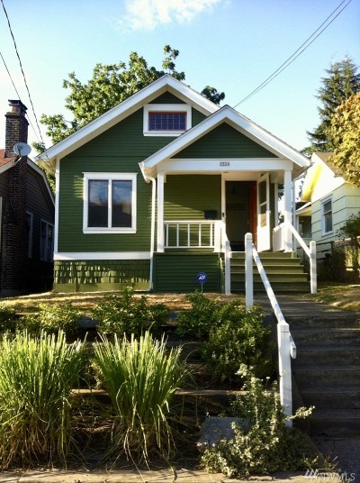 Seattle Single Family Home For Sale: 2324 N 57th St