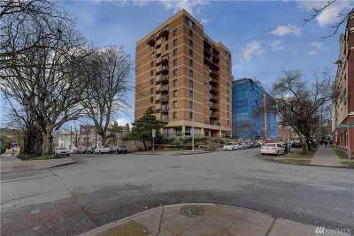 Seattle Condo/Townhouse For Sale: 1300 University St #5C