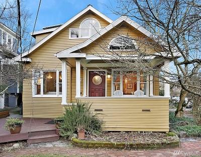 Seattle Single Family Home For Sale: 1624 E Mercer St