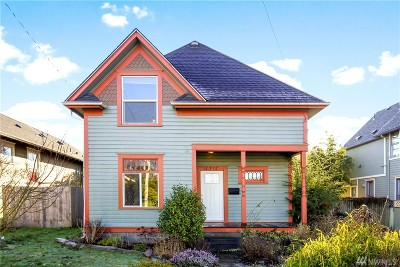 Bellingham Single Family Home For Sale: 2312 C St