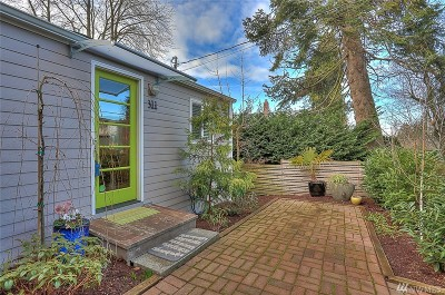 Seattle Single Family Home For Sale: 311 N 42nd St