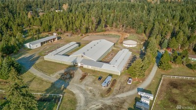 Yelm Farm For Sale: 17002 Railway Rd SE