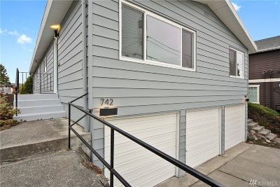 Seattle Multi Family Home For Sale: 742 N 92nd St