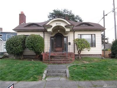 Tacoma Single Family Home For Sale: 2411 N Junett St