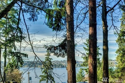 Mercer Island Residential Lots & Land For Sale: 38 W Mercer Wy