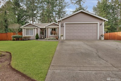 Gig Harbor Single Family Home For Sale: 3620 64th Av Ct NW