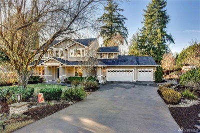 Woodinville Single Family Home For Sale: 14015 235th Place NE