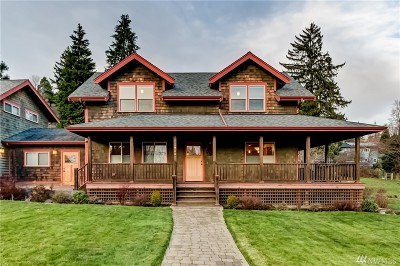 Bellingham Single Family Home For Sale: 1911 Mill Ave