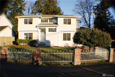 Lynnwood Single Family Home For Sale: 3823 188 St SW