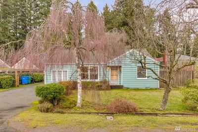 Shoreline Single Family Home For Sale: 17547 10th Ave NE