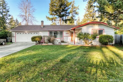 Tacoma Single Family Home For Sale: 16019 13th Av Ct E
