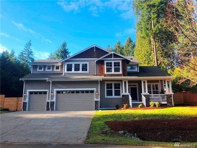 Woodinville Single Family Home For Sale: 15503 186th Ave NE