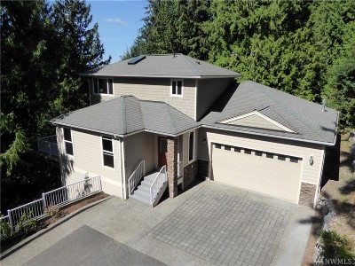 Bellingham Single Family Home Contingent: 54 Grand View Lane