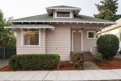 Seattle Single Family Home For Sale: 933 23rd Ave S