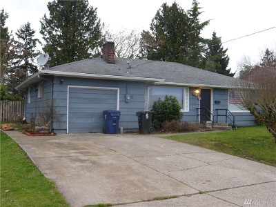 Tacoma Single Family Home For Sale: 9434 S Fawcett Ave