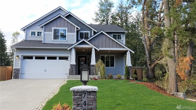 Pierce County Single Family Home For Sale: 7401 74th St Ct NW