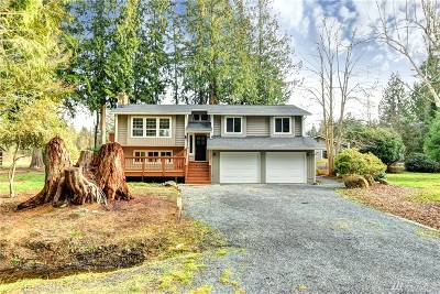 Snohomish Single Family Home For Sale: 14003 23rd Place SE