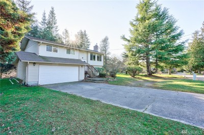 Whatcom County Single Family Home Pending Inspection: 1085 W Laurel Rd