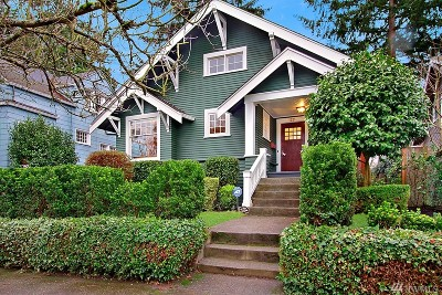 Seattle Single Family Home For Sale: 1221 NE 61st St