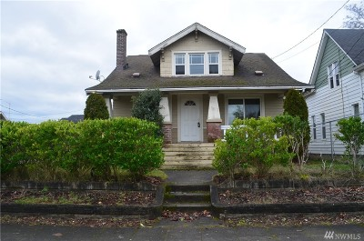 Tacoma Single Family Home For Sale: 1414 S L St