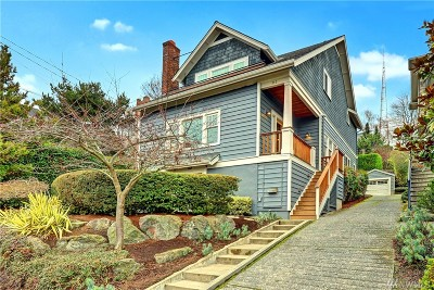Seattle Single Family Home For Sale: 312 Prospect St
