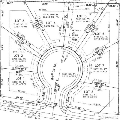 King County Residential Lots & Land For Sale: 6450 NE 202nd St