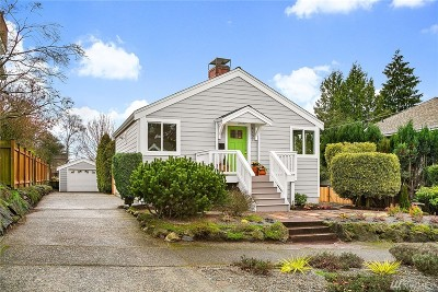 Seattle Single Family Home For Sale: 4107 SW Kenyon St