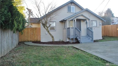 Seattle Single Family Home For Sale: 8437 S 115th Place