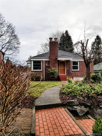 Seattle Single Family Home For Sale: 1731 NE 105th St