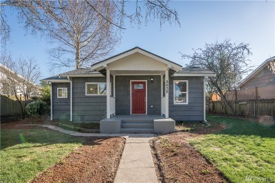 Seattle Single Family Home For Sale: 8638 30th Ave SW