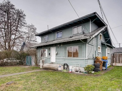 Tacoma Single Family Home For Sale: 7006 S Puget Sound