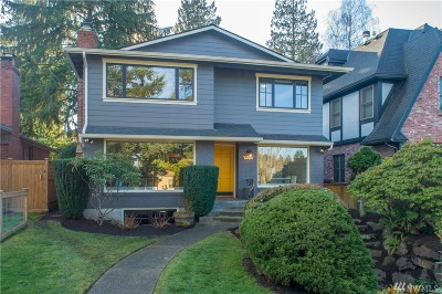 Seattle Single Family Home For Sale: 4017 W Bertona St