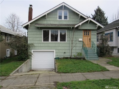 King County Single Family Home For Sale: 5324 8th Ave NE