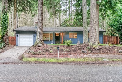 King County Single Family Home For Sale: 15611 173rd Ave NE